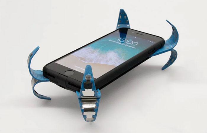 Sistema que evita quebra de tela de celular em queda por meio de um airbag