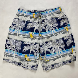 Vilebrequin Swim Trunks Palm Trees