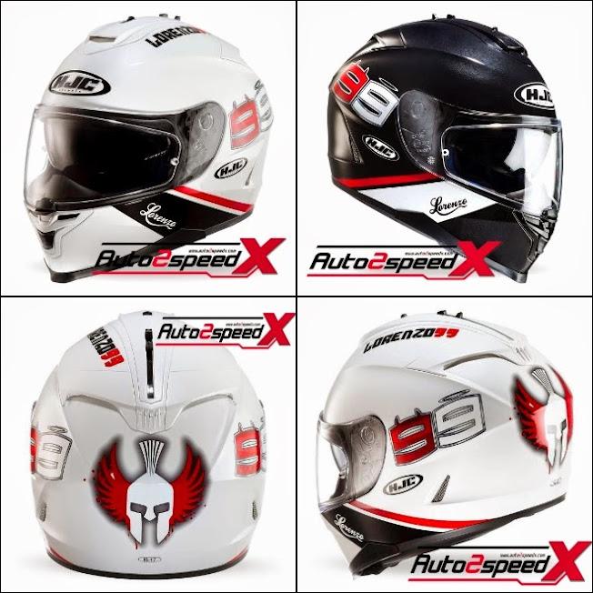 หมวกกันน็อค,HJC,Helmet,IS17,Lorenzo