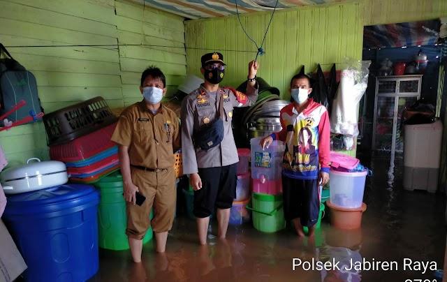 Dua Desa di Kecamatan Jabiren Raya Terendam Banjir