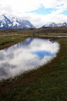 Reflecting Pond on Patagonia Excursion from Hotel Las Torres (Torres Del Paine, Chile)