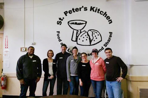 Asthma Team at St. Peter's Soup Kitchen