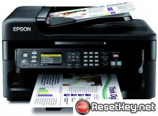 Reset Epson WorkForce WF-3521 printer Waste Ink Pads Counter