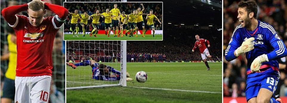 Man Utd 0-0 Middlesbrough Highlights (Penalties Video)