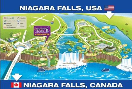 MAPS NIAGARA FALLS