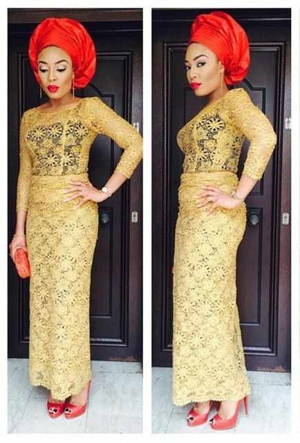 Latest Lace Styles in Nigeria 2016 | Fashionte