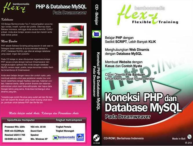 Bamboomedia IT-313 Koneksi PHP MySql Software