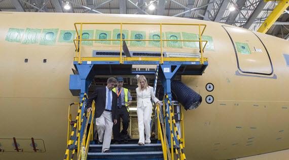 Airbús liderará el área de tecnología y de I+D+i en el sur de la región