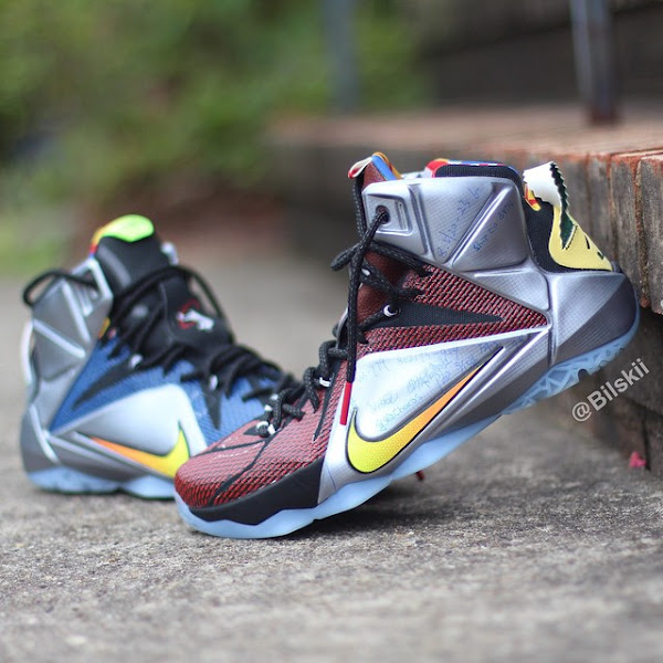 A Slightly Better Look at What The Nike LeBron 12