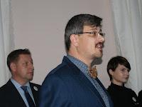 Lovosice polgármestere üdvözli a Magyar Házat.JPG