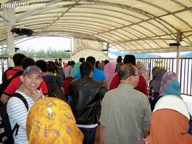 Pangkor ferry service