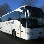 Mercedes Tourismo van Gebo Tours