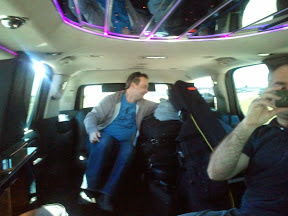 Stretch limos are not really comfortable... US Tour 2012