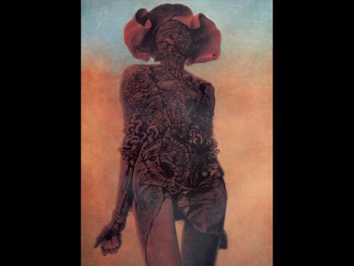 Zdzislaw Beksinski Beauty, Death