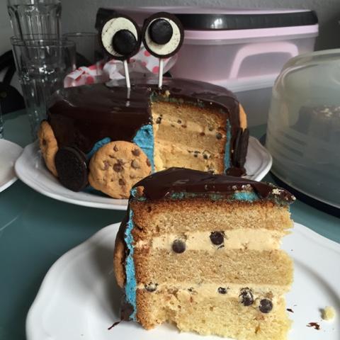 Olles Himmelsglitzerdings Krumelmonster Torte