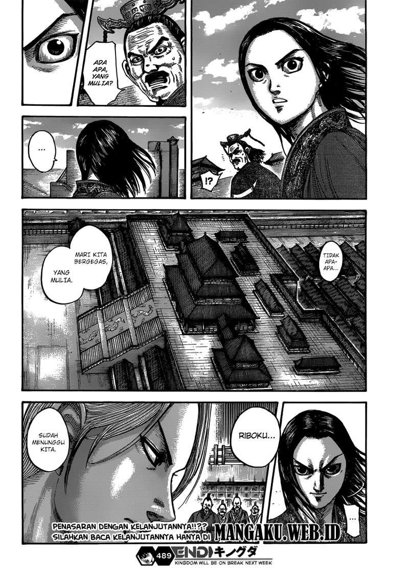 Baca Manga Kingdom Chapter 489 Komik Station