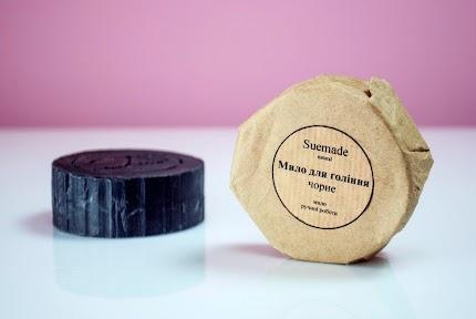 Мило для гоління з бамбуковим вугіллям