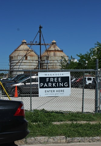 where to park at the silos
