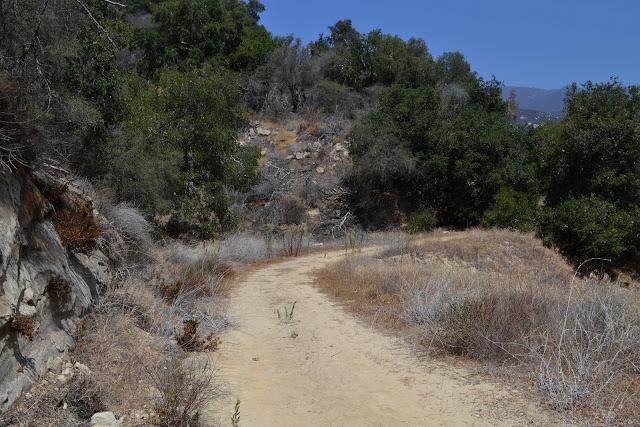 flat dirt road