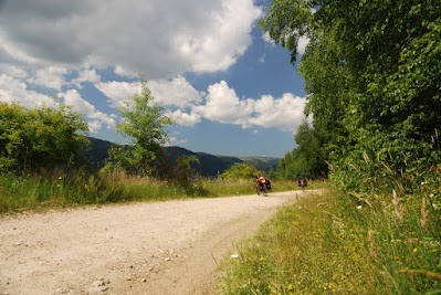 Zwischen Marisel und  Maguri-Racatau