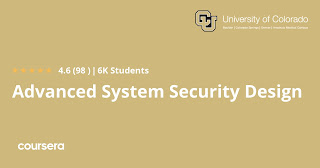 Best System Security Course form Coursera