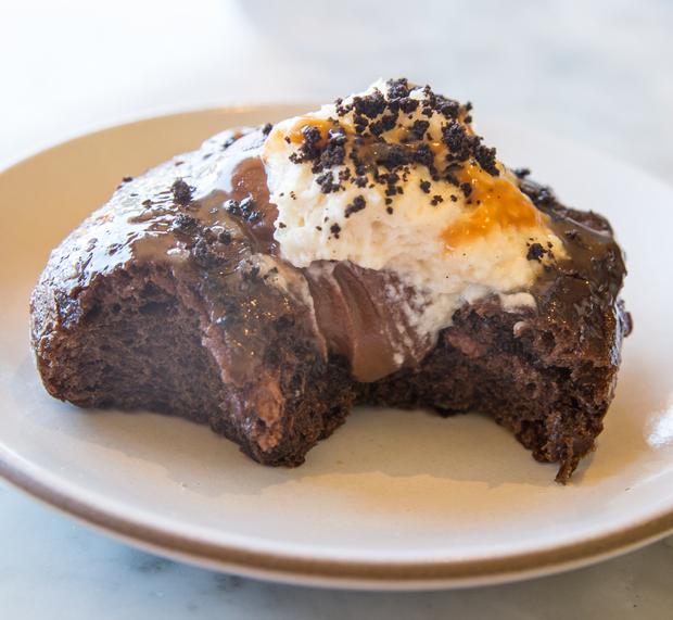 close-up photo of Chocolate Budino