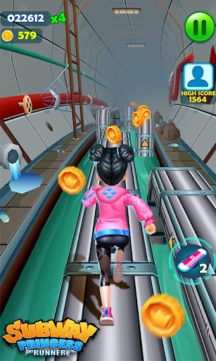 Subway Princess Runner  captures d'écran 3