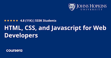 Best Coursera Course to learn HTML And CSS