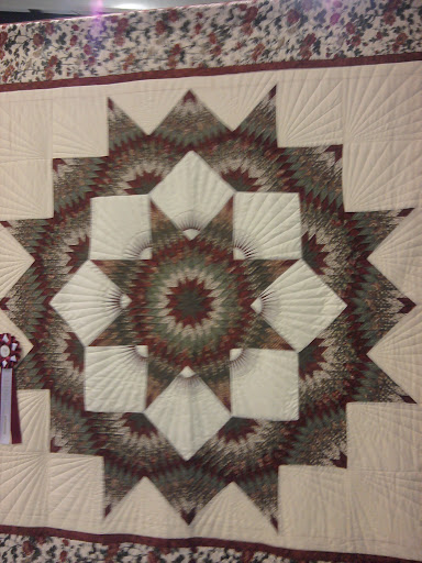 Lone star hand quilted