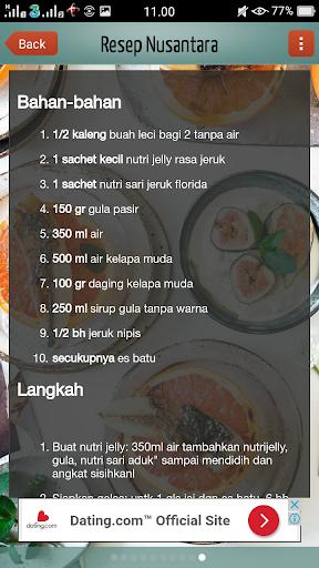 Resep Nusantara 1.0 screenshots 3
