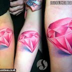 diamonds - tattoos ideas
