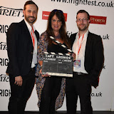 OIC - ENTSIMAGES.COM - Sam Clemens, Caroline Munroe and George Clemens at the Film4 Frightfest on Sunday    of  Captain Kronos  UK Film Premiere at the Vue West End in London on the 30th August 2015. Photo Mobis Photos/OIC 0203 174 1069