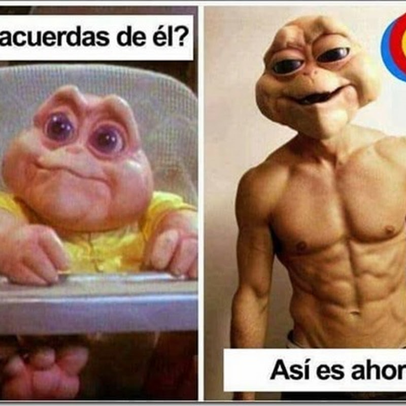 Humor antes y después baby Sinclair