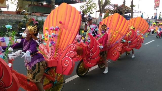 Dua Hari Kota Mojokerto Gelar Parade Kendaraan Hias