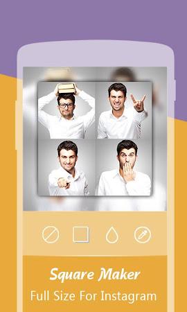 SquareMaker: blur  InstaSquare 2.6 screenshot 326545