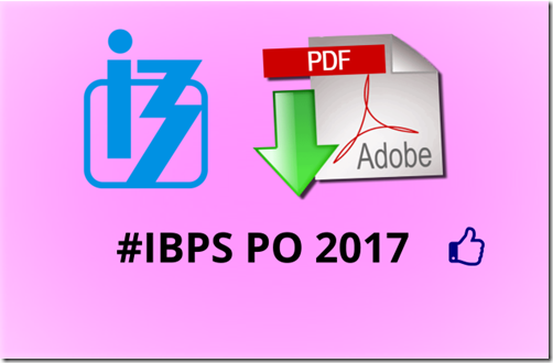 IBPS PO 2017 Question paper set 2 [ Latest pattern]