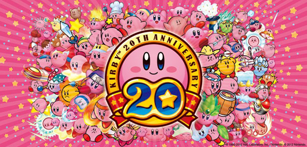 Kirby Celebrates 20th Anniversary
