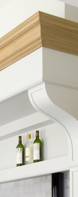 Detaill kitchen hood