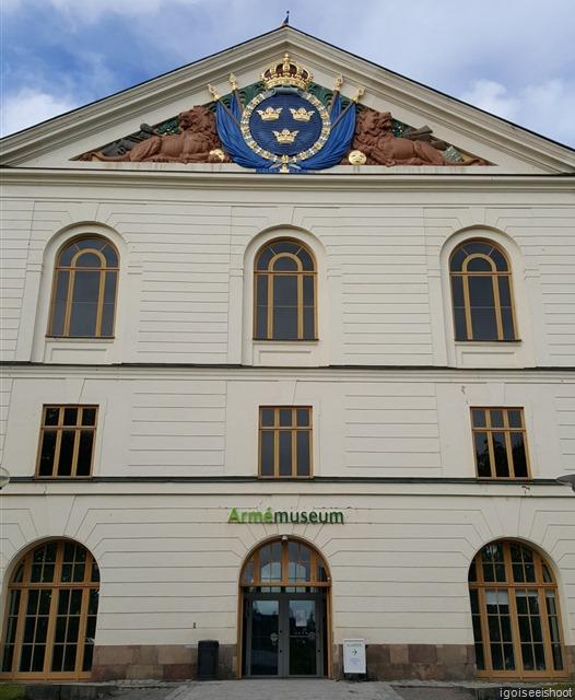 Swedish Army Museum (Armémuseum) in Stockholm