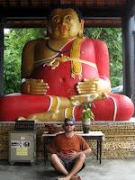 Fat Buddha - Wat Chedi Luang - Chiang Mai