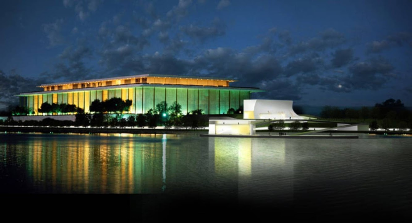 Steven Holl: KENNEDY CENTER EXPANSION by STEVEN HOLL