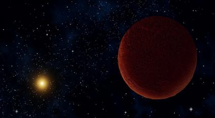 ilustração do corpo planetário DeeDee