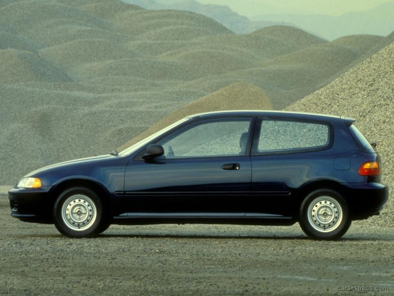 1993 Honda Civic Hatchback Specifications, Pictures, Prices