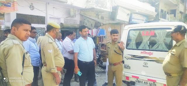उपजिलाधिकारी नीतीश कुमार ने सड़कों का किया निरीक्षण, दिए आवश्यक दिशा निर्देश