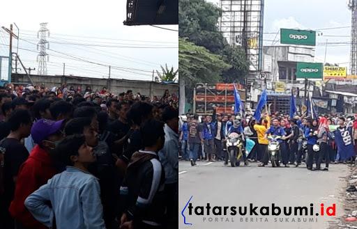 Kasus Buruh di Cicurug Berbuntut Panjang, Buruh Ancam Bupati DPRD dan Disnaker