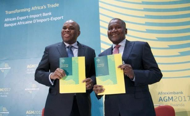 Afrexim signs $1bn loans with Dangote