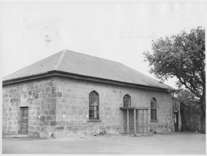Old St. Andrews Church, now a Hall, 29 Bathurst St, Hobart, Tasmania. Built c.1824