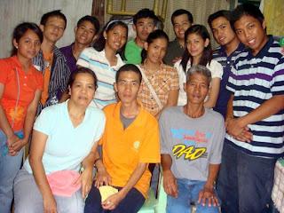 February 20: Timothy Joseph Ramos with Parents (Concepcion, Marikina City)