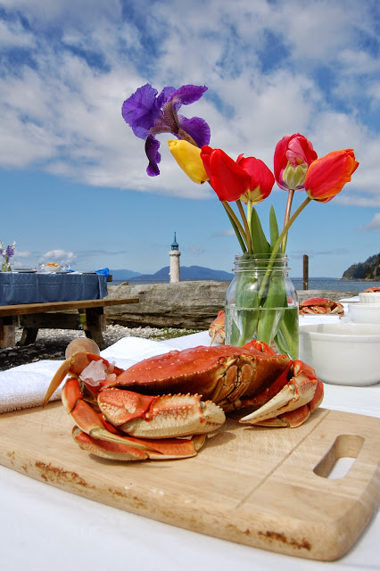 An exquisite presentation displayed at the picnic area behind Taylor Shellfish Farm. / Credit: Bellingham Whatcom County Tourism