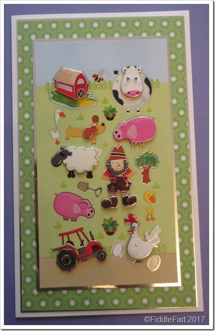 Old MacDonald Birthday Card